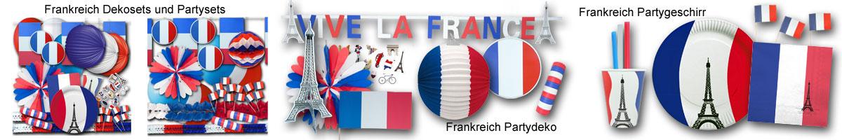 Frankreich Banner