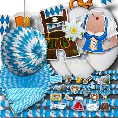 originelle partybox mit oktoberfest deko zum sparpreis. Black Bedroom Furniture Sets. Home Design Ideas