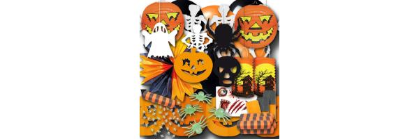 Halloween und Grusel Deko & Partygeschirr