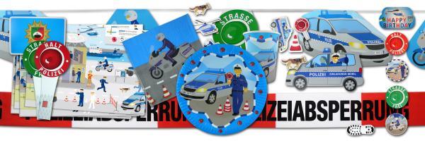 """Polizei"" Party Kindergeburtstag"