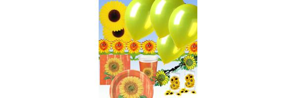 Sonnenblume Mottoparty