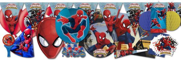 """Spiderman"" Party Kindergeburtstag"