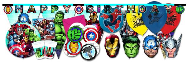 """Avengers"" Party Kindergeburtstag"