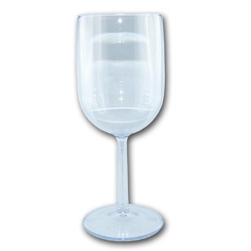Hochwertiges, wiederverwendbares Kunststoff Weinglas