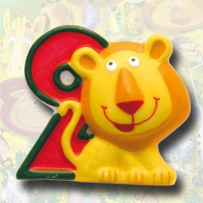 """Zahlenkerze """"Safari"""" 2"""