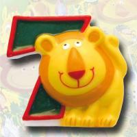"""Zahlenkerze """"Safari"""" 7"""