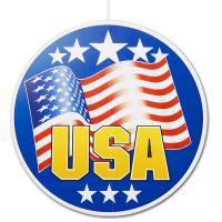 """""""USA"""" Dekohänger rund 28 cm DM"""