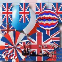 """""""Großbritannien"""" Partyset XXL"""