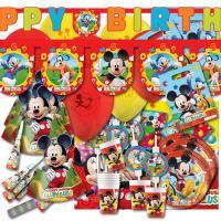 Kindergeburtstag Partyset Mickey Mouse mit Partydeko und...