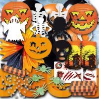 Großes Halloween Partydeko Set für eine dekorative...