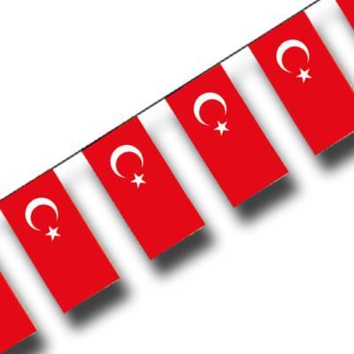 """Fahnenkette """"Türkei"""""""