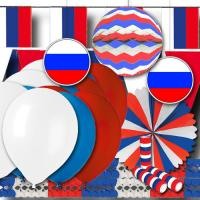 """""""Russland"""" Partydeko Grundausstattung"""