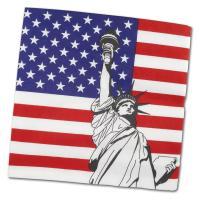 """USA"" Motivservietten"