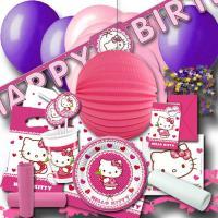Kindergeburtstag Partyset Hello Kitty