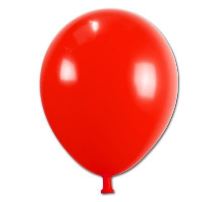 Partydeko Luftballons rot