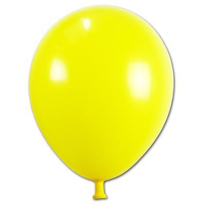 10 Luftballons gelb in TOP Qualität
