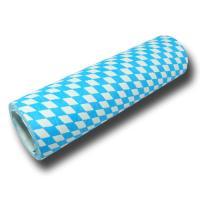 Luftschlangen mit bayrischer Raute für eine blau-weiße...