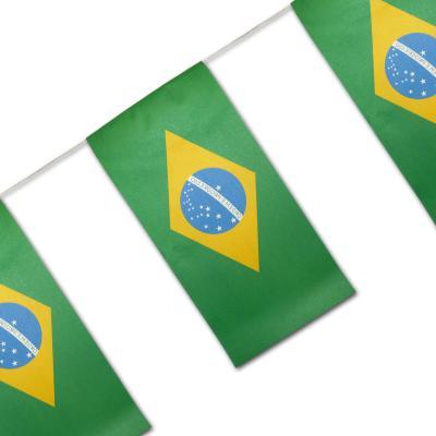 """""""Brasilien"""" Fahnenkette"""