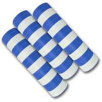 Qualitäts-Luftschlangen blau-weiß aus schwer...