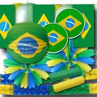 """""""Brasilien"""" Dekoset Grundausstattung"""