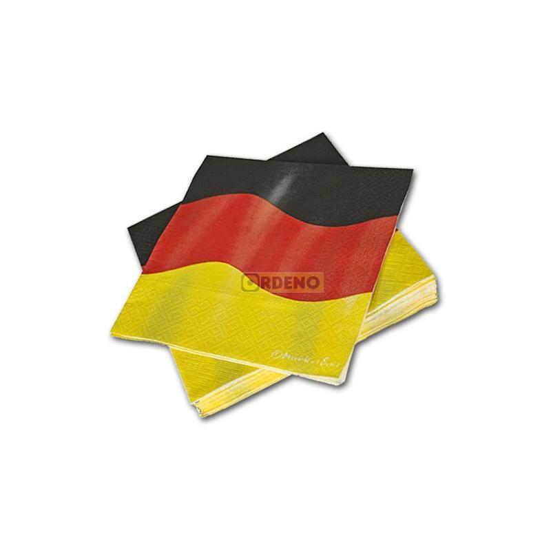 deutschland partyset xxl  partydeko  partygeschirr