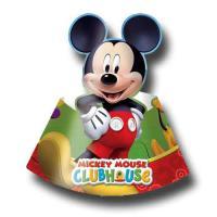 Bunte Partyhütchen für den Kindergeburtstag mit Mickey...