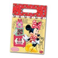 Bunte Partytaschen mit Minni Mouse Motiv für die...