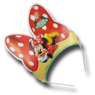 """""""Minnie Mouse"""" Kindergeburtstag Haarreifen   6 Stück"""