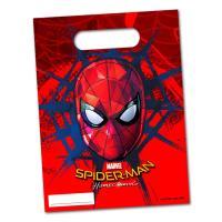 Bunte Spiderman Partytaschen für die Mitgebsel der...