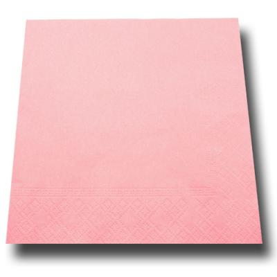 20 Stück Papierservietten rosa.