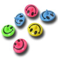 Smiley Kreisel 6er-Pack