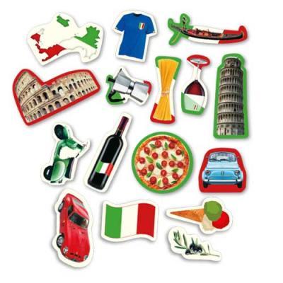 Italien Dekomotive für eine stilechte, italienische Tischdekoration.