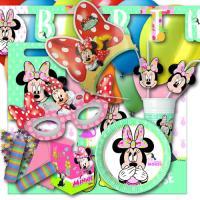1 umfangreiches Partyset zum Partymotto Minnie Mouse, mit...