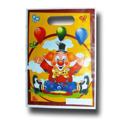 """""""Clown"""" Kindergeburtstag Partytaschen   8 Stück"""