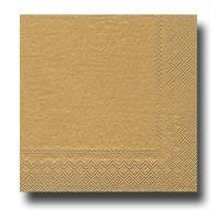 20 Papierservietten gold