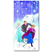 1 Türbanner mit Motiv für den Kindergeburtstag mit Frozen...