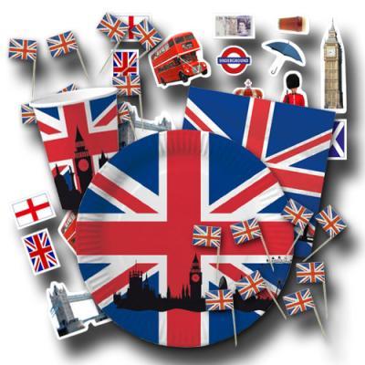 Großbritannien Partygeschirrset UNION JACK