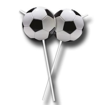Trinkhalme mit Fußball Motiv