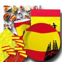"""Spanien"" Partygeschirrset VIVA ESPANA"