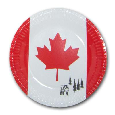 Pappbecher für Partygeschirr Kanada
