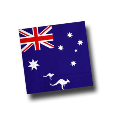 Australien Motivservietten