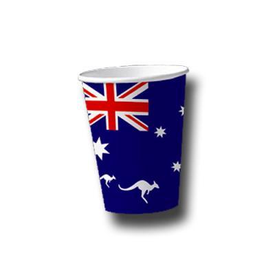 Australien Pappbecher