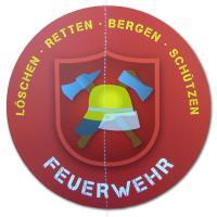 Kindergeburtstag Feuerwehr Dekohänger Motiv einzeln