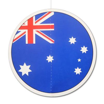 Dekohänger Australien mit dem Motiv der australischen Flagge 13,5 cm Durchmesser