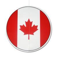 Dekohänger mit Kanada Flaggen Motiv, rund, ca. 13,5 cm...