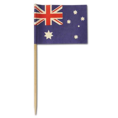 50 Fahnenpicker mit Australien Flaggen