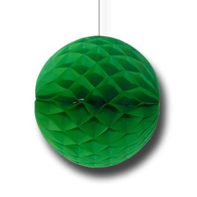 Partydeko Wabenball grün