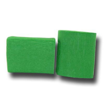 Partydeko Krepp-Papier grün