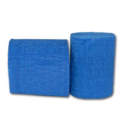 Partydeko Krepp-Papier blau