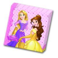 20 rosa Servietten für den Kindergeburtstag mit...